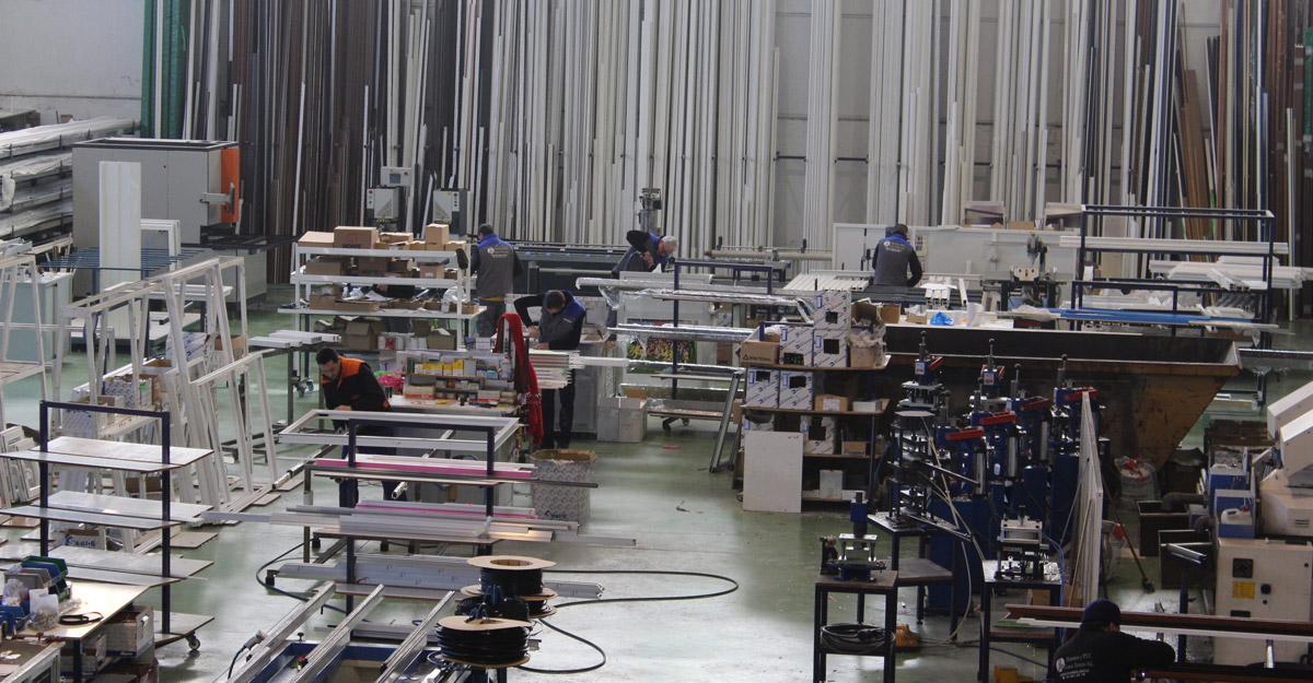 Fabrica de aluminio y pvc en madrid for Fabrica de puertas de aluminio