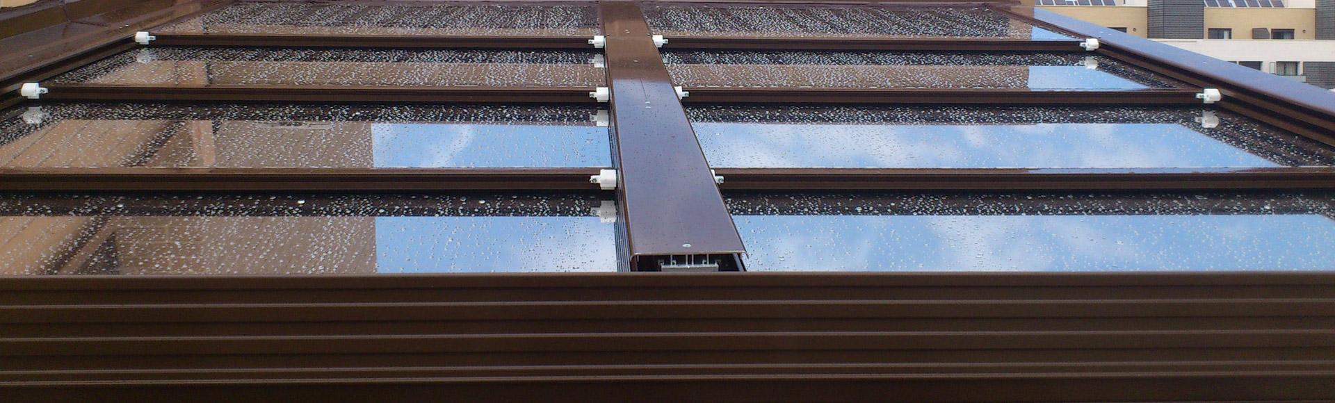 Cerramientos de terrazas pergolas y porches pergoglass - Porches de aluminio y cristal ...